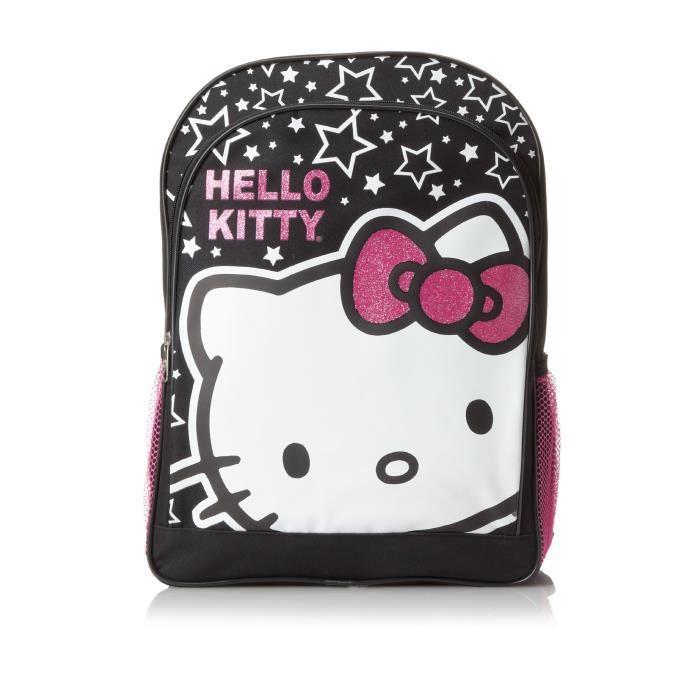 Sanrio Hello Kitty Stars And Hk Big Face Sac à dos G2SNX