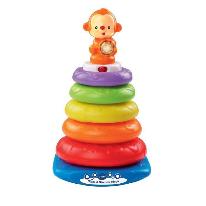 Vtech Baby Stack Et Découvrez Anneaux - Multicolore NABXH