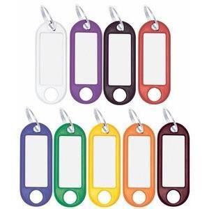 Wedo porte-clés avec anneau, diamètre: 18 mm, r…