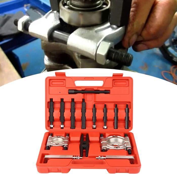 Zerodis kit de séparateur de roulement 14 pièces Auto boîte de vitesses roulement extracteur séparateur ensemble acier allié