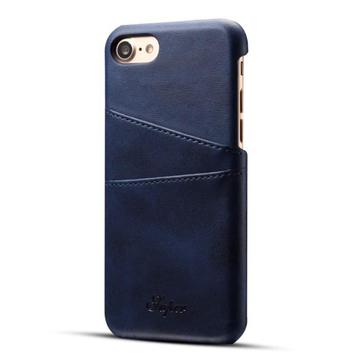iphone 7 coque carte bleu