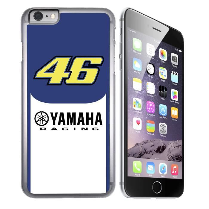Coque iPhone 8 Yamaha Racing Rossi 46 Moto GP