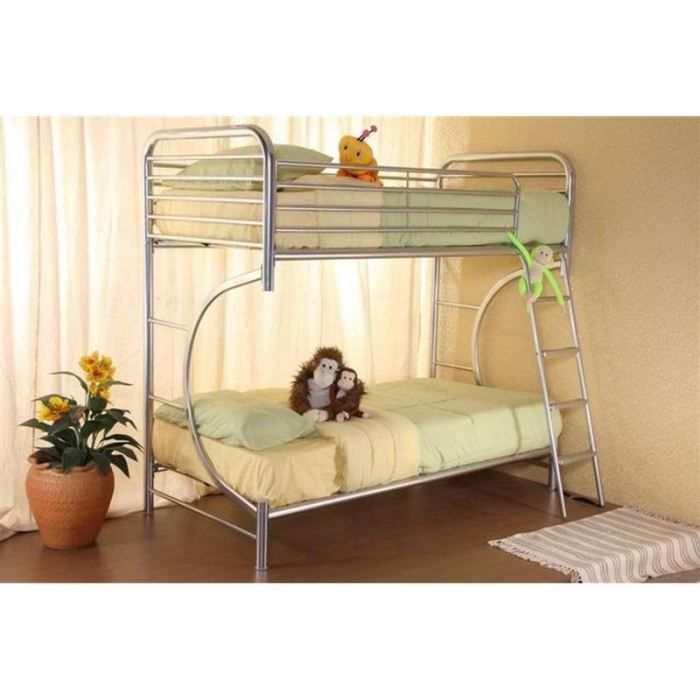 C twin twin lit superpose 90x190 achat vente lits superposes c twin twi - Lit superpose discount ...