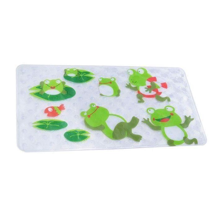 Enfants Tapis de bain antidérapant douche Tapis Anti-Bactérien Douche Baignoire Tapis pour bébés et
