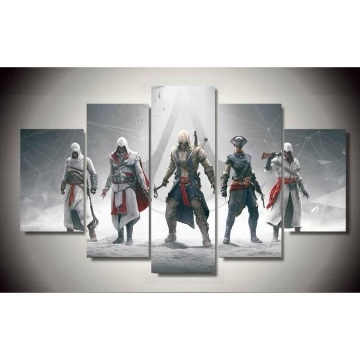 cadre assassins creed achat vente cadre assassins creed pas cher cdiscount. Black Bedroom Furniture Sets. Home Design Ideas