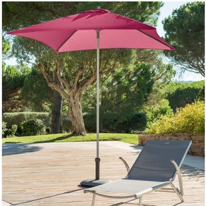 parasol anzio droit carre hesperide rose achat vente parasol parasol anzio carre rose. Black Bedroom Furniture Sets. Home Design Ideas