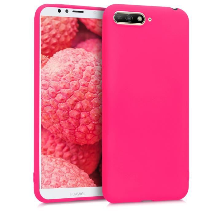 Kwmobile Coque Huawei Y6 (2018) - Coque pour Huawei Y6 (2018 ...