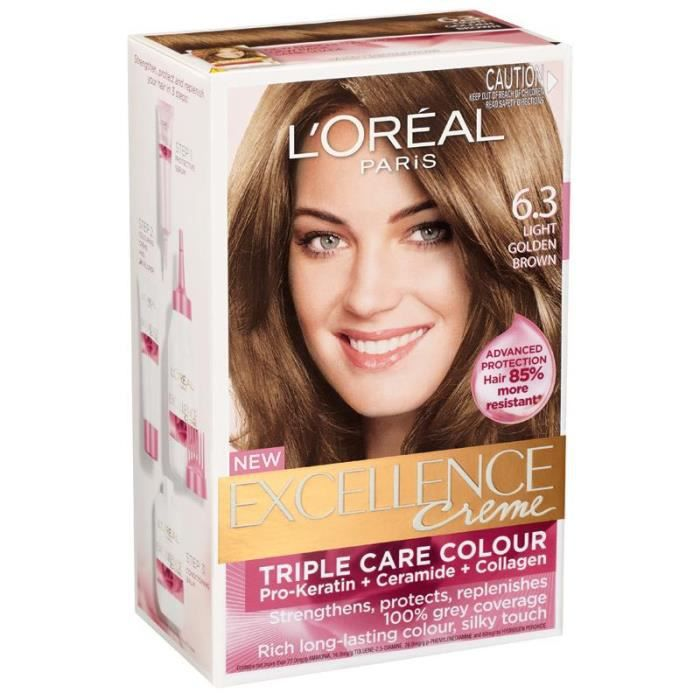 coloration excellence crme loral blond fonc - Coloration Excellence