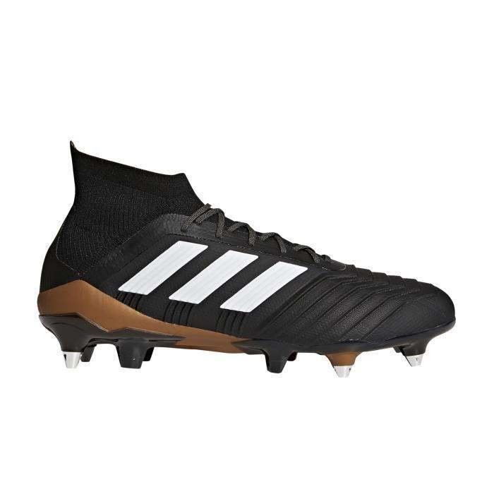 Chaussures football adidas Predator 18.1 SG Noir Prix pas