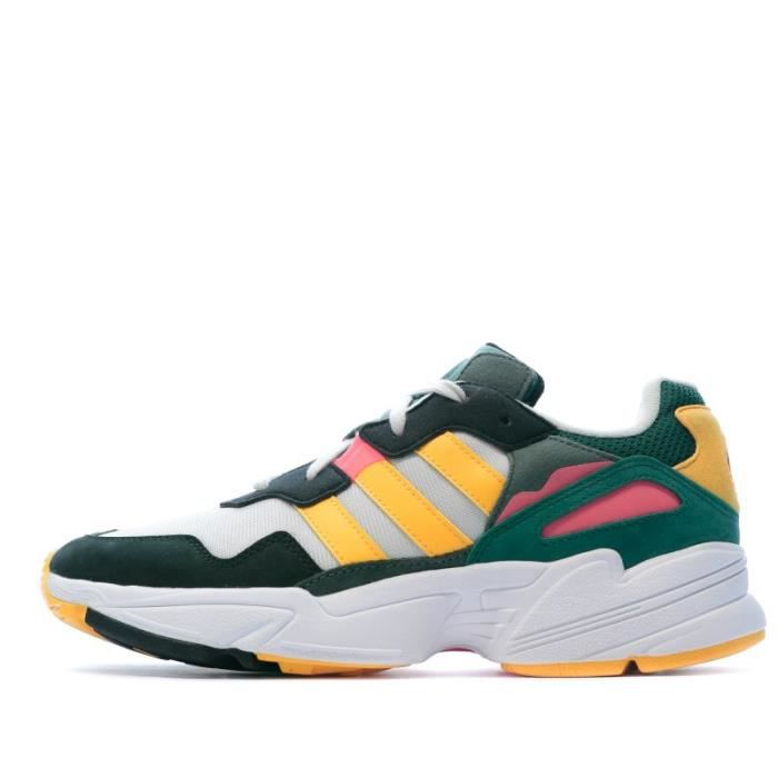 Yung 96 Baskets multicolor homme Adidas