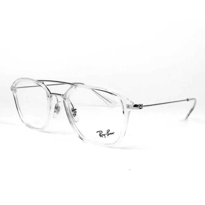 lunette de vue ray ban femme transparente