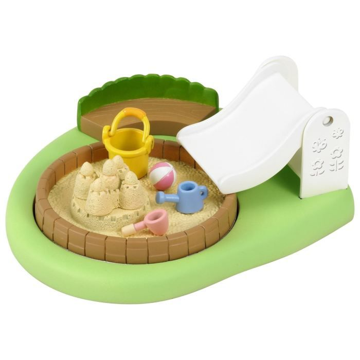 Sylvanian families bac sable piscine cr che achat for Piscine bac