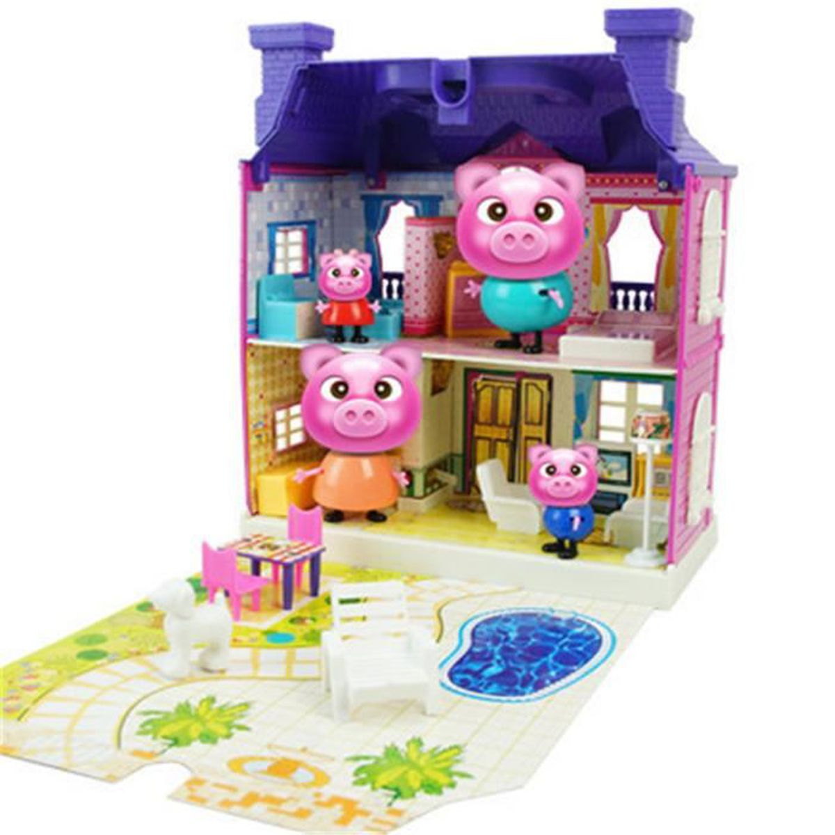 Peppa pig princesse suite maison a collection achat for Arielle d collection maison