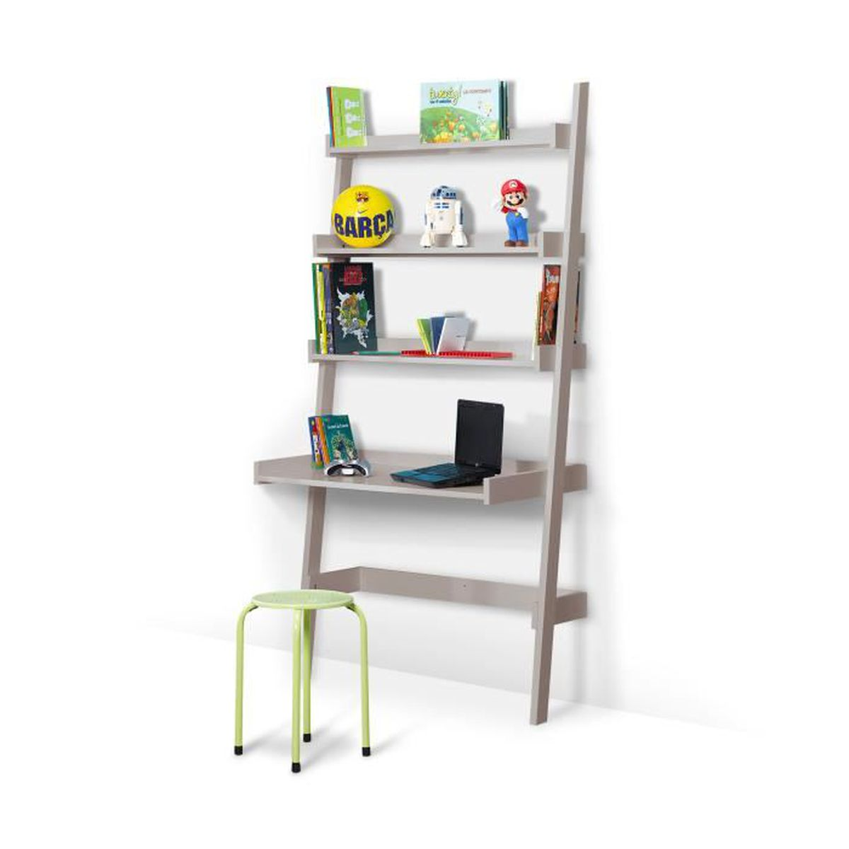 bureau etagere enfant lin achat vente bureau bureau etagere enfant lin cdiscount. Black Bedroom Furniture Sets. Home Design Ideas