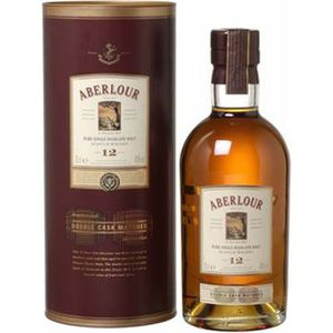 WHISKY BOURBON SCOTCH aberlour 12 ans double cask (70cl)