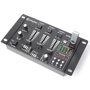 TABLE DE MIXAGE TABLE DE MIXAGE MIXER DJ USB 6 CANAUX AVEC USB/MP3