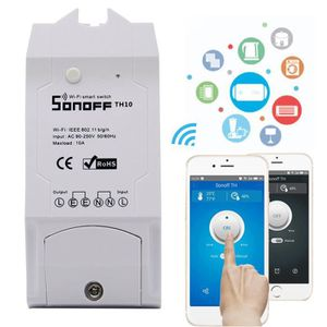 THERMOSTAT D'AMBIANCE WiFi Wireless Smart Home Time Switch Moniteur d'hu
