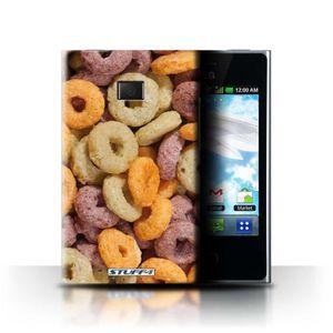 COQUE - BUMPER Coque de Stuff4 / Coque pour LG Optimus L3 E400 /