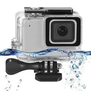 CAISSON ÉTANCHE Boîtier étanche pour GoPro Hero 7 Argent-Blanc Cam