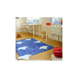 tapis pour enfant bleu marine barquitos lorena canals. Black Bedroom Furniture Sets. Home Design Ideas