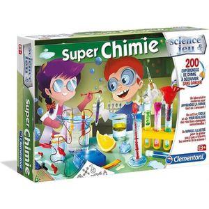 EXPÉRIENCE SCIENTIFIQUE CLEMENTONI Science & Jeu - Super Chimie - Jeu scie