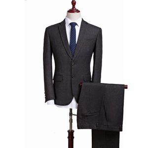 COSTUME - TAILLEUR Costume homme business de blazer officiel vêtement