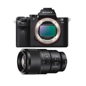 APPAREIL PHOTO RÉFLEX SONY A7 II + SEL 90MM F2.8 Macro G OSS
