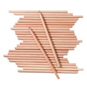 POT À CRAYON Lot de 100Pcs Crayon de Bois HB Naturel Crayon à P