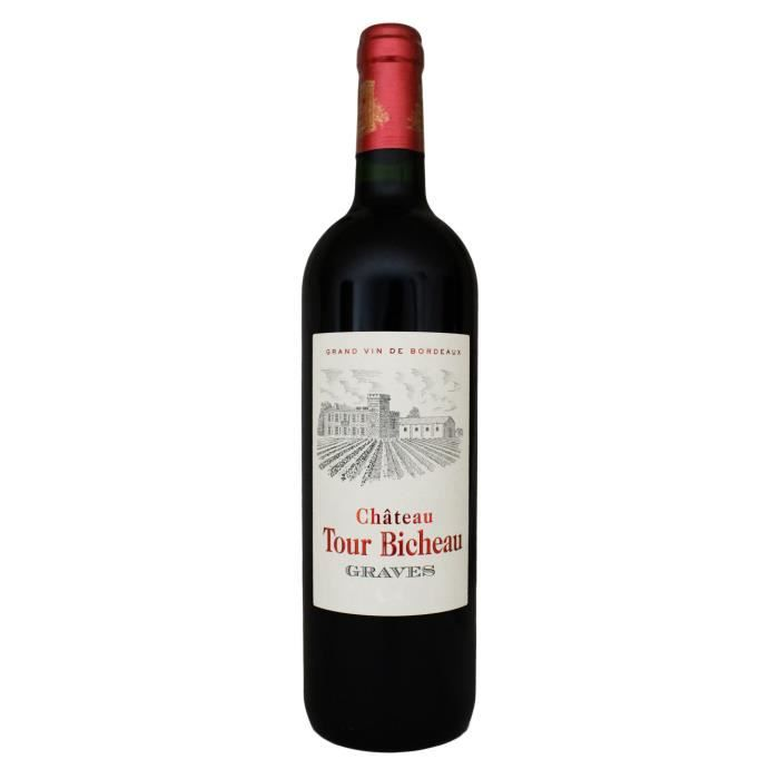 Château Tour Bicheau, Grand Vin de Graves (Bordeaux), 2018 - Vin Rouge