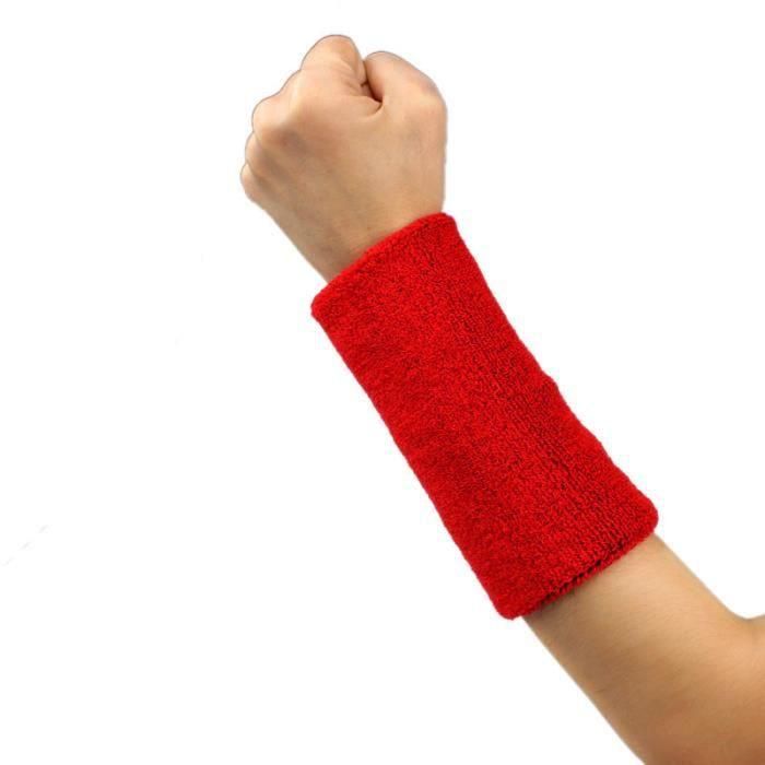 KIT PROTECTION Bande de sueur Bandeau de poignet Bande de bras Basketball Tennis Gym Yoga RD ke014