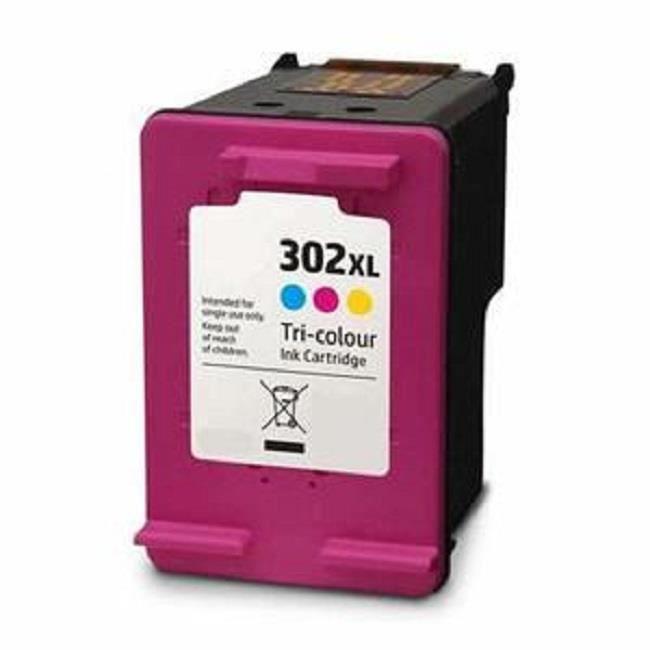 Cartouche compatible HP 302XL CMY pour HP ENVY 4520