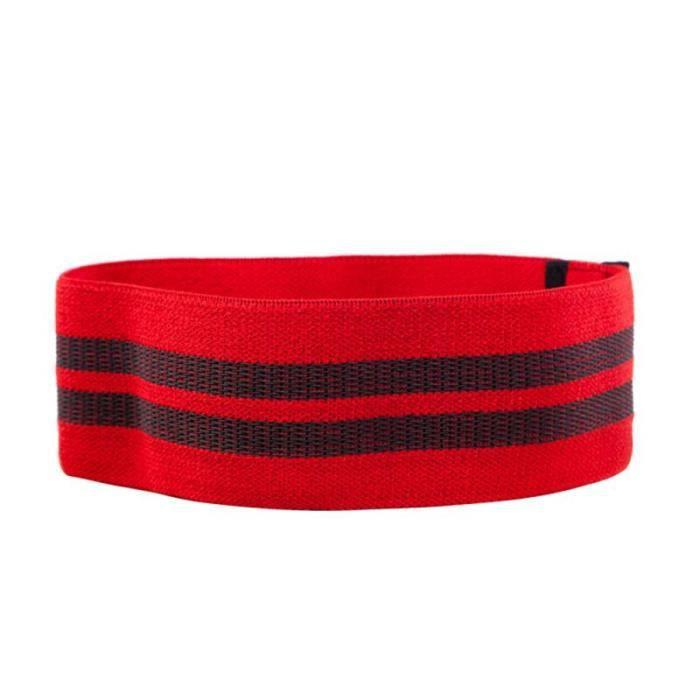 Bandes de résistance de Yoga bande élastique de hanche-cou bande de résistance Squat Yoga Fitness a - Modèle: red S - HSJSTLDC02934
