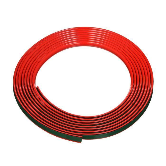 Profil Adhésif pour Voitures, Rouge, 11 mm x 5 mt