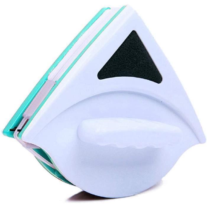 Nettoyant Magnétique Couche Simple Face avec Corde Anti-Chute. Lave-Vitres Magnétique pour Fenêtres à Simple Vitrage De Grande Haute