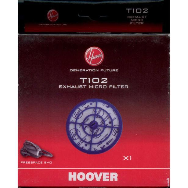HOOVER T102 - 1 Micro Filtre Sortie lavable HOOVER
