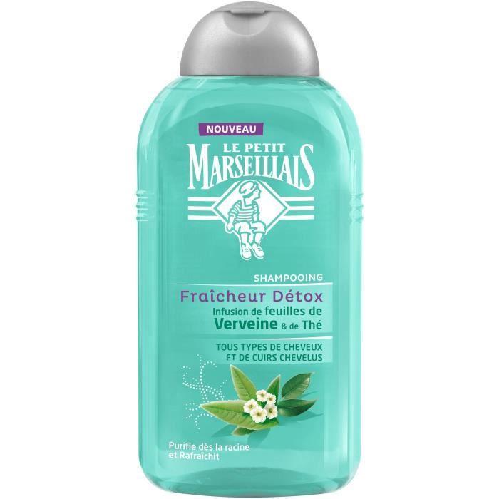 Shampoing fraîcheur detox 250ml Le petit Marseillais