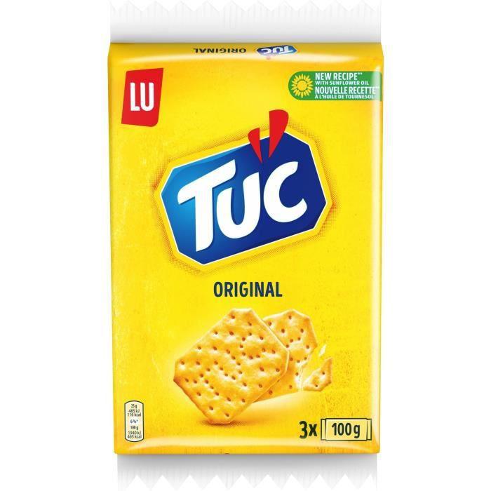 Tuc Original Triopack 3x100g