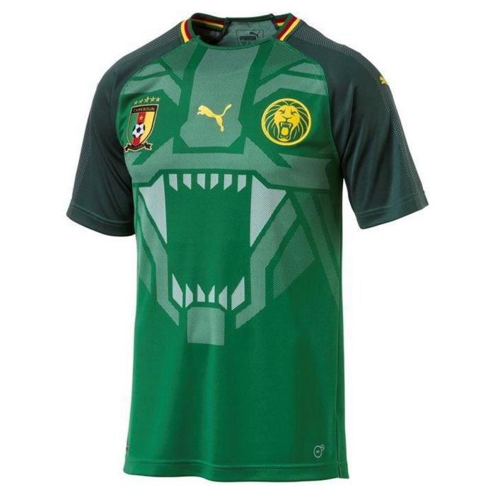 Nouveau Maillot Homme Puma Cameroun 2018
