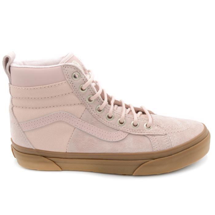 Vans SK8-HI MTE 46 Basket femme VNOA3DQ5OQ6 Sepia Rose-Gum T. 38