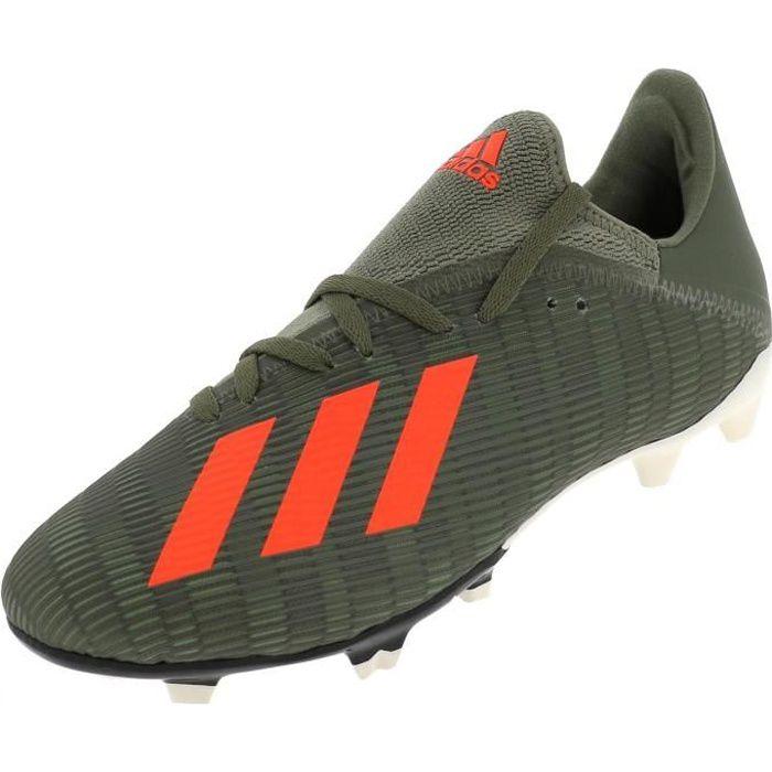 Chaussures football lamelles X 19.3 fg jr kaki org - Adidas