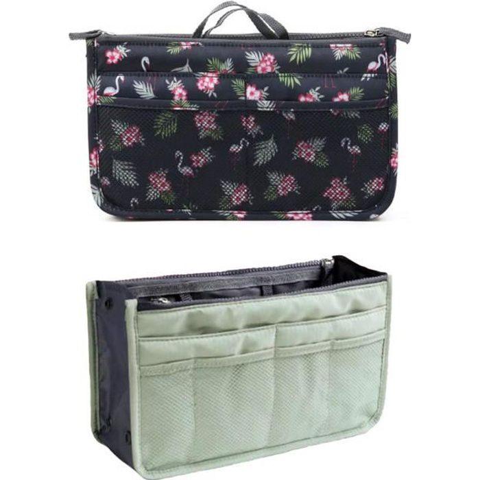2 Organiseurs de sac à main, Pochette Sac de Rangement intérieur pour Sac à Main , nouvelle collection