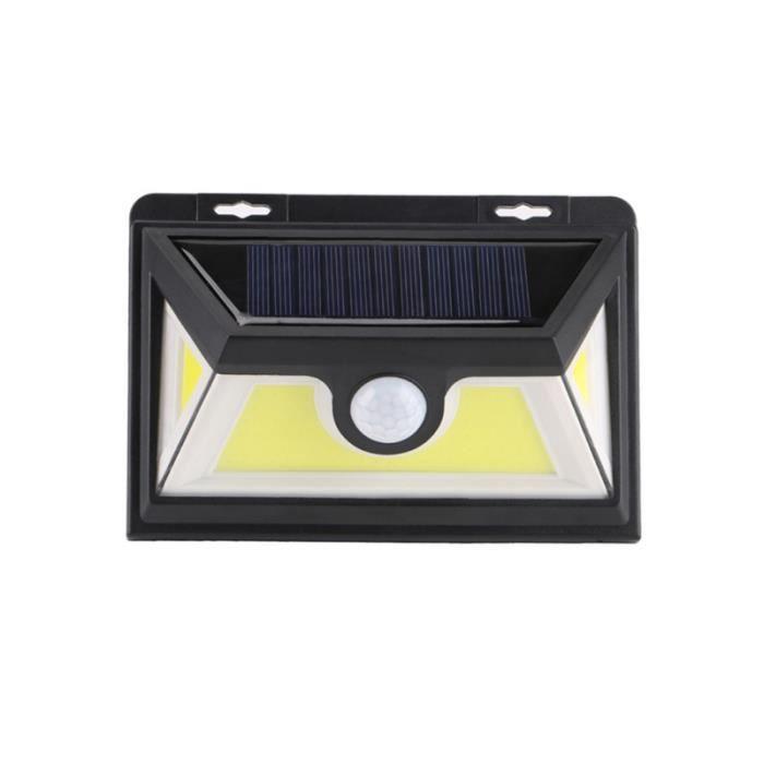 1 PC lampe à LED énergie solaire IP64 étanche Rechargeable extérieur Yard applique murale pour couloir route LAMPE A POSER