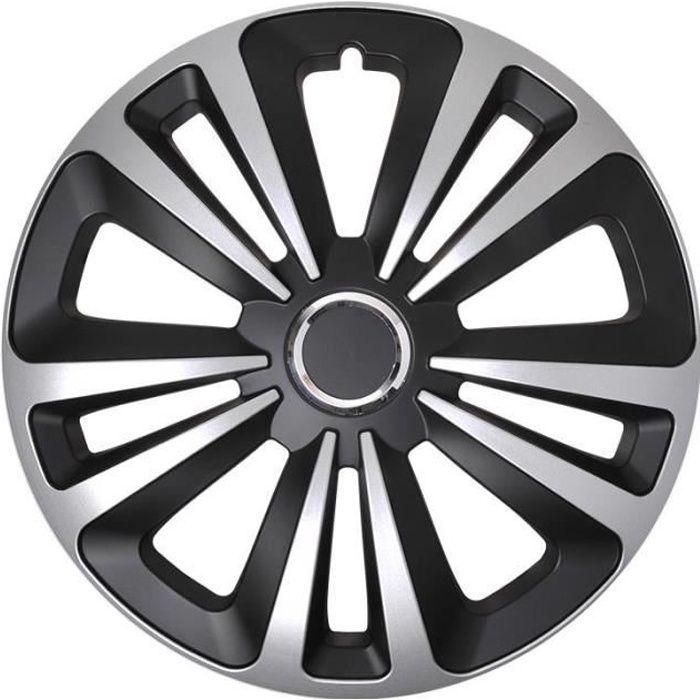 ProPlus hubcap Terra 14 pouces ABS noir / argent pièce