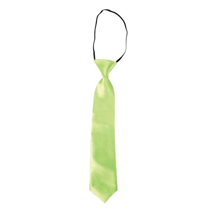 Autre Accessoire Deguisement Vendu Seul - Cravate verte fluo