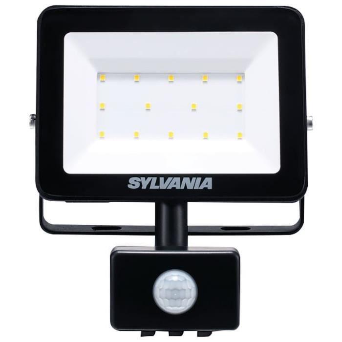 SYLVANIA Projecteur extérieur LED à détecteur - 900 lm - 4000K