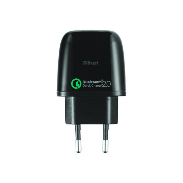 TRUST Ultra Fast Wall Charger - Chargeur secteur - Noir