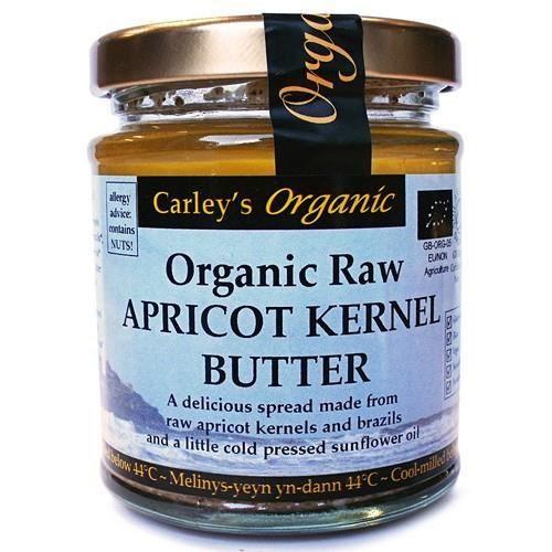 BEURRE DE CACAHUÈTE Beurre noyau d'abricot Raw Organic Carley de 170g
