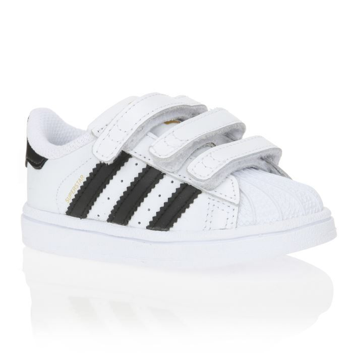 adidas originals baskets superstar b b gar on blanc et noir achat vente basket cdiscount