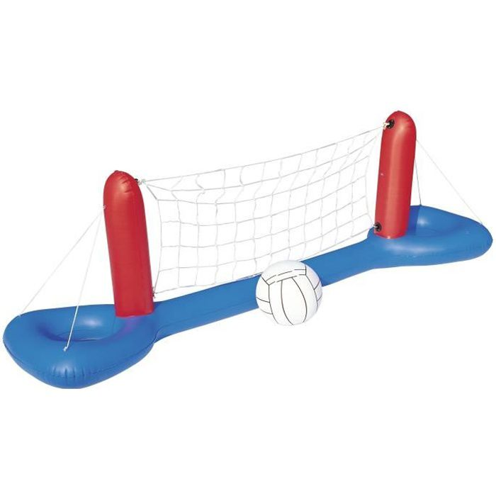 Bestway jeu de piscine set de volley ball 244cm x 64cm x for Resistance chauffante pour piscine