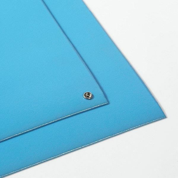 Tapis de table antistatique bleu au m tre largeur 910 for Tapis de cuisine 3 metres